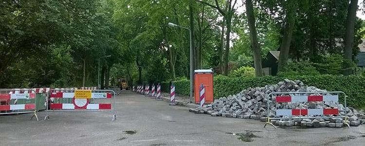 Verkeer - De Parken, Hilversum