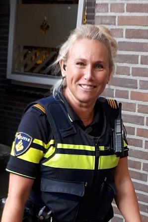 Mirjam van der Meer, wijkagent De Parken Hilversum